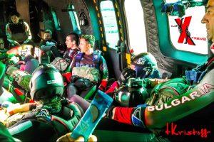 skydiving Деня на Храбростта
