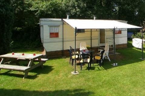Camping Wittelterbrug verhuur stacaravan