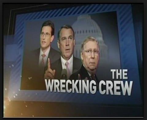 Republican wrecking crew
