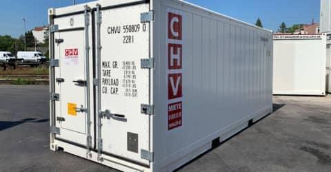20ft Kühlcontainer Reefer mit Butcher Tür
