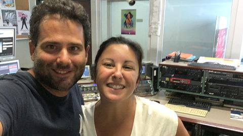 Pat et Lucie à la radio