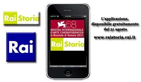 RaiStoria lancia l'applicazione per iPhone con la mostra del cinema di Venezia | Digitale terrestre: Dtti.it