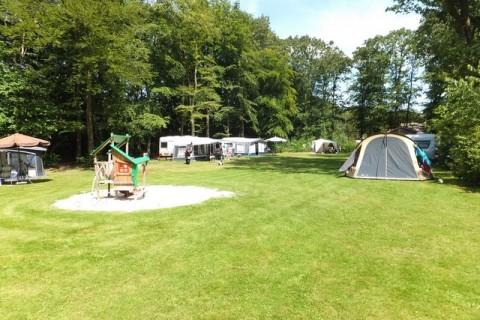 Boscamping Appelscha Comfort kampeerplaats