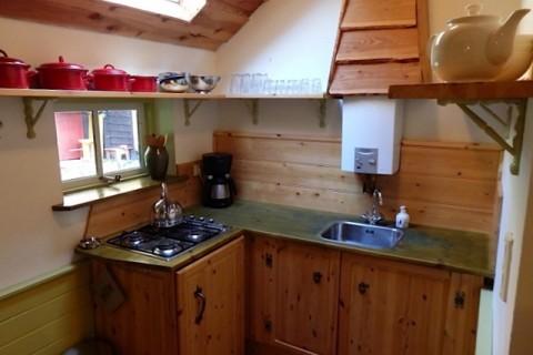 Vakantiehuis Te Hooi en Te Gras keuken