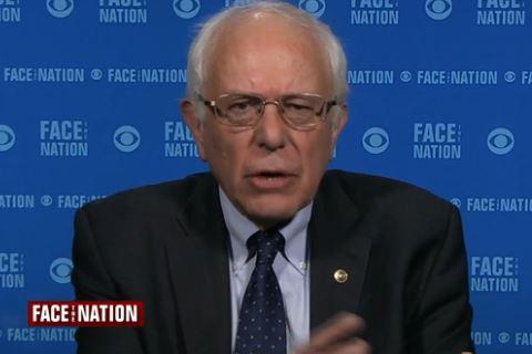 Bernie Sanders Talks Trump On Face The Nation