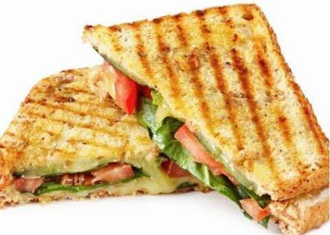 Healthy Indian Snacks Vegetable Sandwich