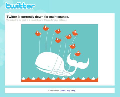 Twitter Under Maintenance