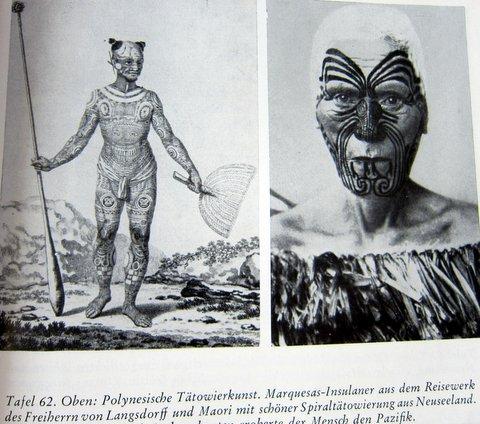 Tätowierungen der Südsee - Es begann in Babel - Herbert Wendt