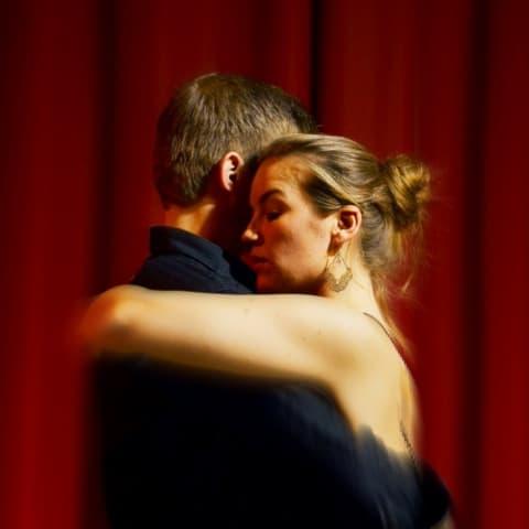 Camilla og Kim tæt stil argentinsk tango