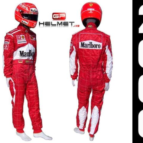 Michael Schumacher 2006 Racing Suit Ferrari F1