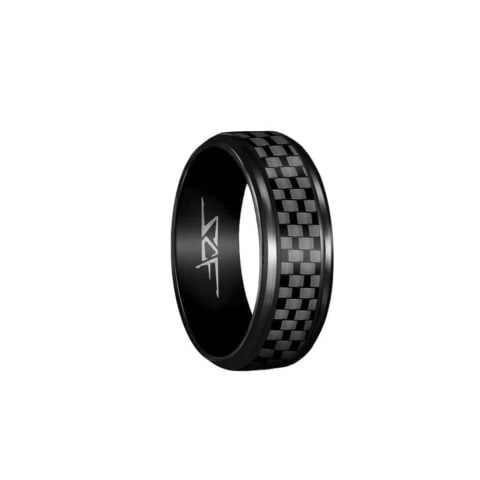 Real Carbon Fiber Ring (BLACK) ●SLATE●