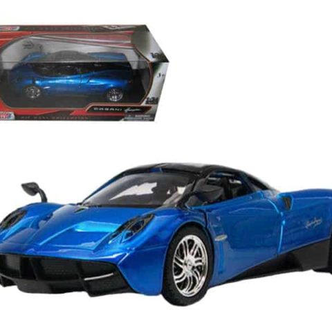 Pagani Huayra Blue 1/24 Diecast Model Car by Motormax