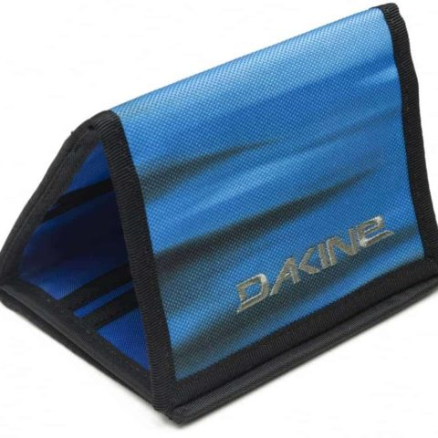 WALLET Dakine Diplomat Abyss Purse Ripper Coins Notes Cards Identity Blue