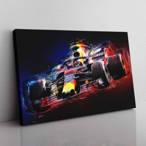 Electrifying Max wall canvas
