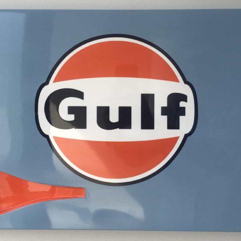 Homage to Gulf Mclaren f1 GTR 1997 Le Mans