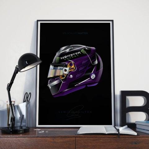 Lewis Hamilton 2020 Race Helmets