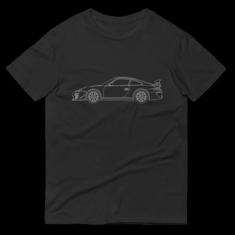 Porsche GT3RS 4.0 T-shirt – Silver Print