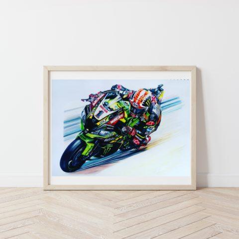 Jonathan Rea Fine art prints A3