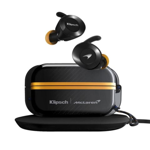 Official Klipsch McLaren T5 II True Wireless Sport McLaren Edition Earphones