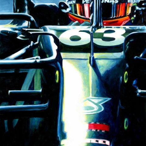 George Russell 2020 F1 Sakhir GP