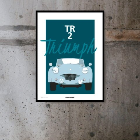 Triumph TR Limited Edition Poster