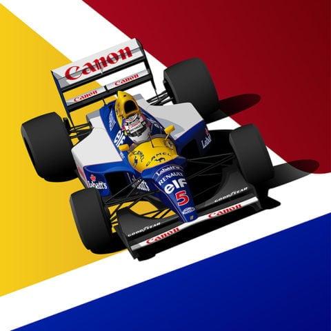 Williams FW14B | Nigel Mansell