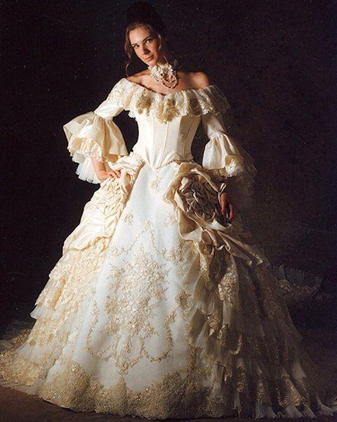 vestidos-de-novia-manga-larga-vintage-maria-antonieta