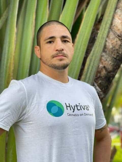 Diego Sanches UFC MMA cannabismerk Team Hytiva
