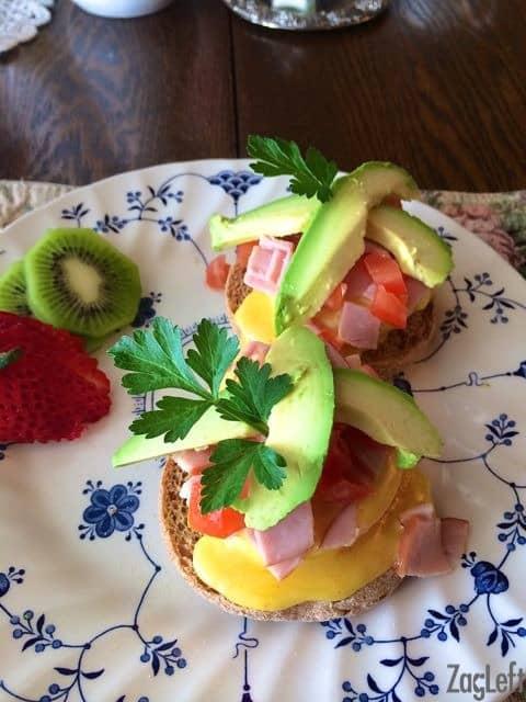 The Raford Inn - California Eggs Benedict - ZagLeft