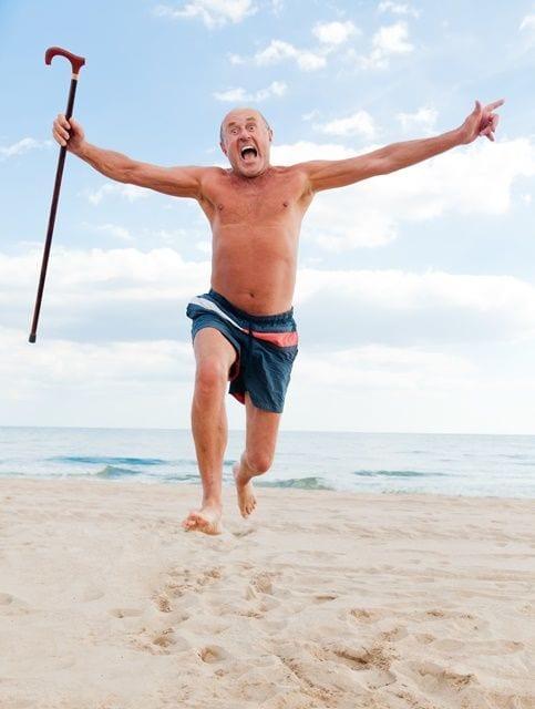 Optimismus und Freude halten jung und sind besonders im Alter ein wichtiges Kriterium um gesund zu bleiben.