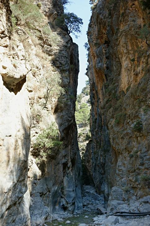 Creta que ver garganta samaria