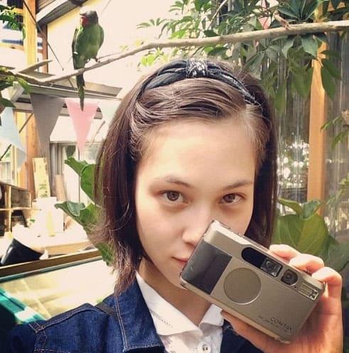 Kiko Mizuhara showing Contax T2