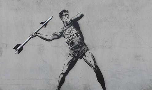 Banksy 2012 Olymopics