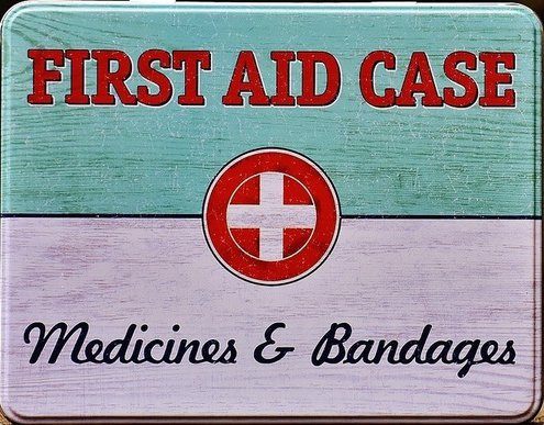 First aid kit like this one is handy to keep in the car