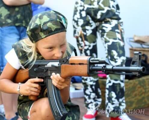 Аниматоры Киев на детский праздник в стиле Спецназ