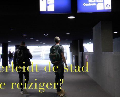 verleidt stad reiziger Breda Station OV terminal