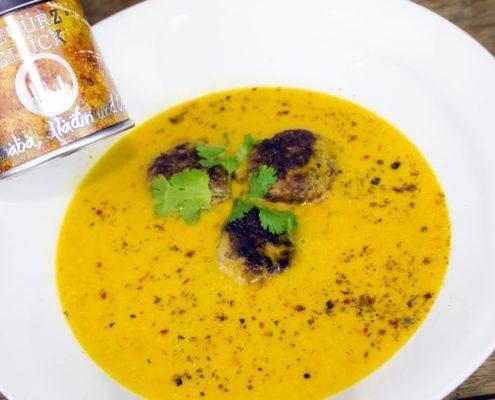 bestes gewürz für kürbissuppe