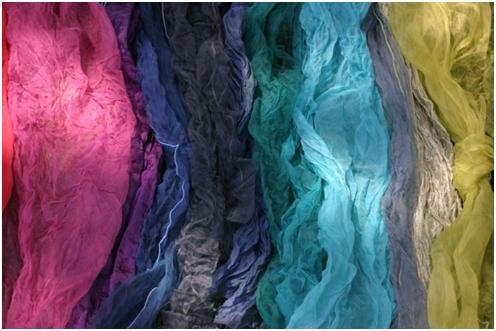 Farbimpressionen Workshops Farben und Färben