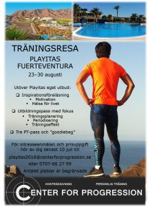 Playitas 2016 - Annons