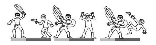 نقش حرکت خودکار در مبارزه زنجیره ای