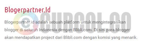 Halaman About BlogPartner