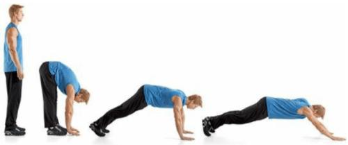 rozciąganie dynamiczne spacer ramion i nóg