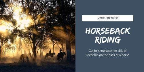 Medellin horseback riding