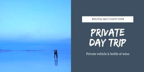 Private day trip Salar de Uyuni