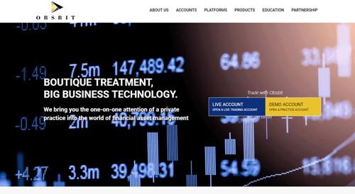 Obsbit pagina web