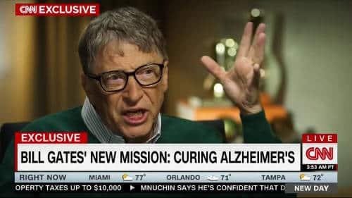 Bill Gates w walce z Alzheimerem, demencją