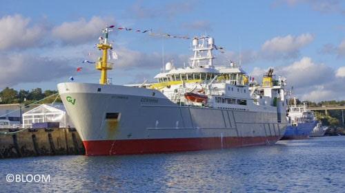 Le navire Scrombus