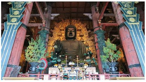 todaiji temple budha statue