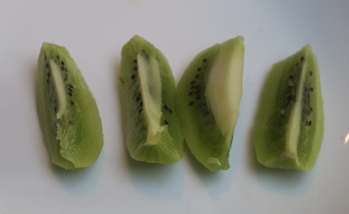 kiwi - finger foods for a 6-month-old