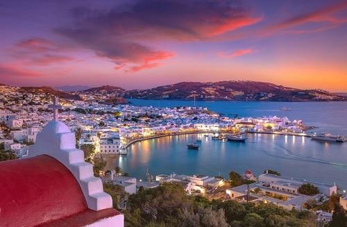 Best Greek Island For Party Animals/LGBTQ Travelers: Mykonos